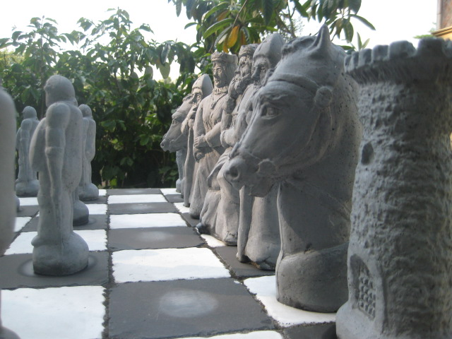 Casa Galiano Cast Chess Pieces